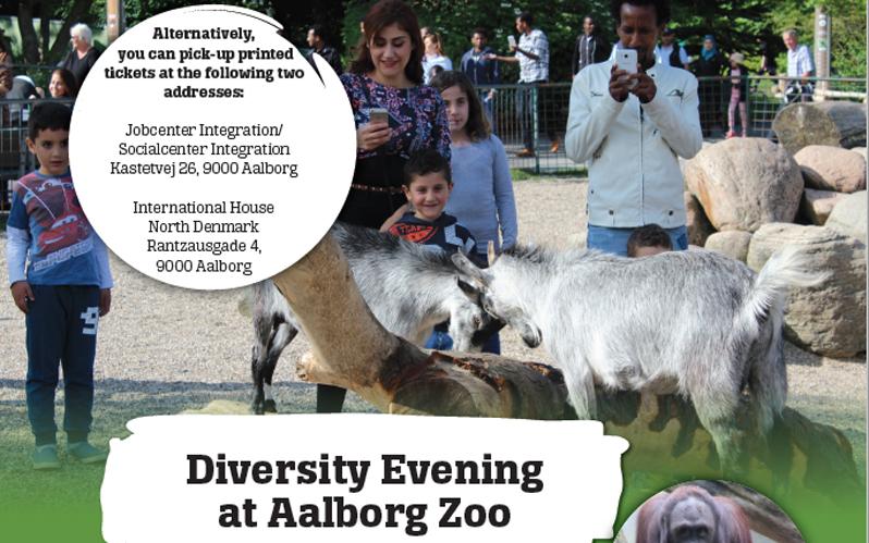 Aalborg Zoo MRK billet