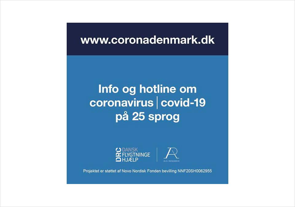 Info om Corona på 25 sprog